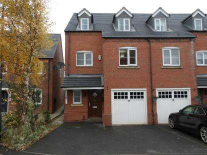 3 Bedrooms Semi Detached House for sale in Lakeshore Crescent, Whitwick, Coalville