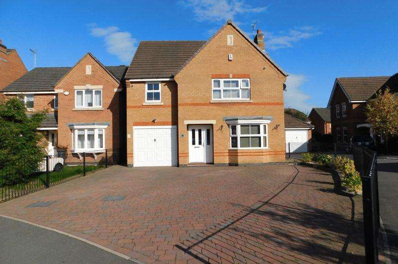 4 Bedrooms Detached House for sale in Hampton Close, Coalville