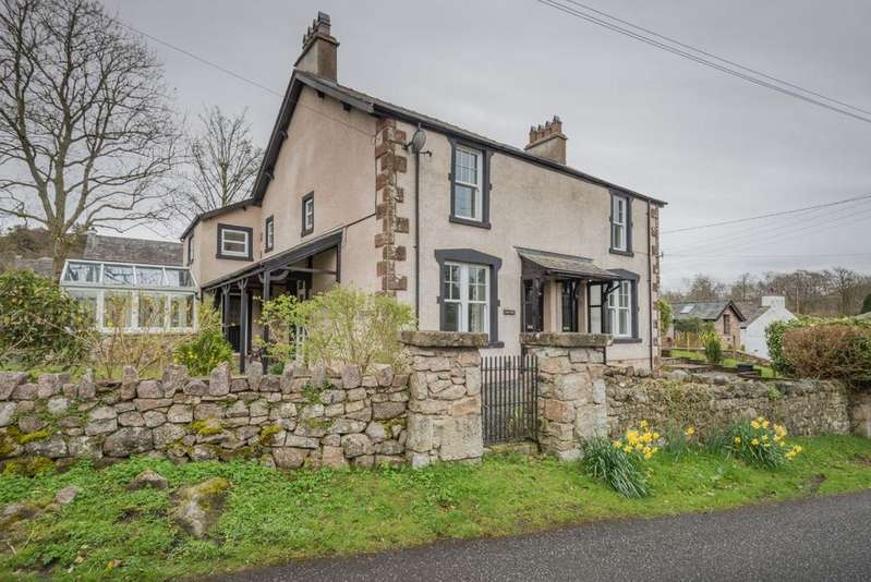 4 Bedrooms Cottage House for sale in Muncaster View House, Eskdale Green, Holmrook, Cumbria, CA1 1UA
