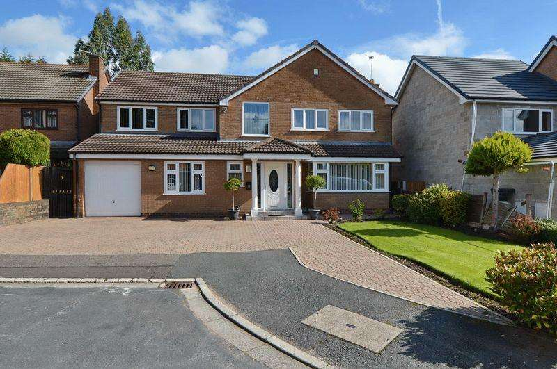 5 Bedrooms Detached House for sale in Ringley Close, Whitefield, Manchester