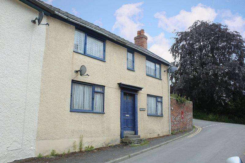 3 Bedrooms Semi Detached House for sale in Welsh Street, Bishops Castle, SY9 5BT