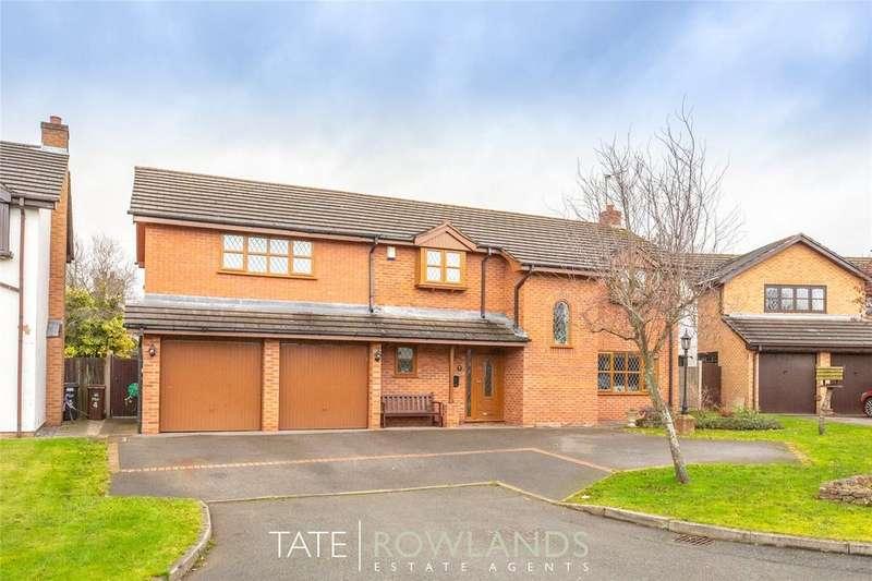 5 Bedrooms Detached House for sale in Llys Armon, Lixwm, Flintshire, CH8