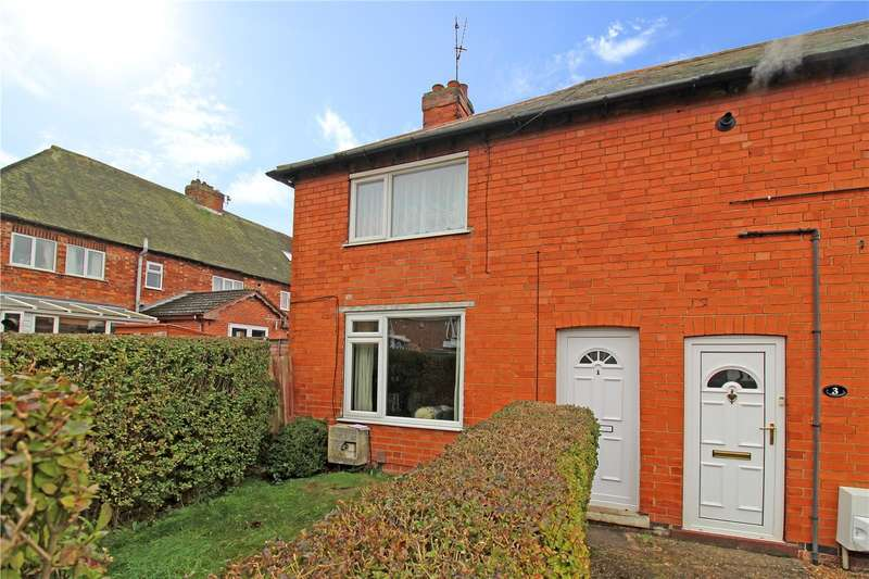 2 Bedrooms End Of Terrace House for sale in Cowes Road, Grantham, NG31