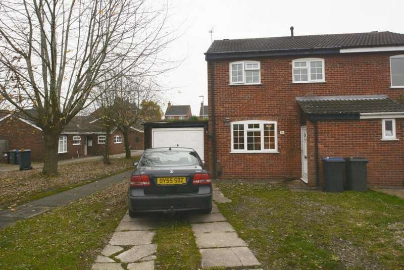 3 Bedrooms Semi Detached House for sale in Kerry Close, Barwell, Leicestershire, LE9 8HT