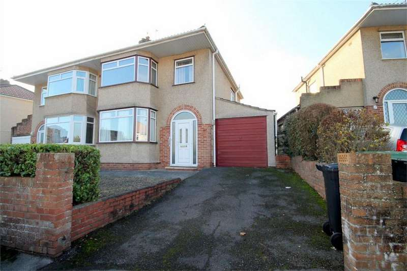 3 Bedrooms Semi Detached House for sale in Fouracre Road, Downend, Bristol