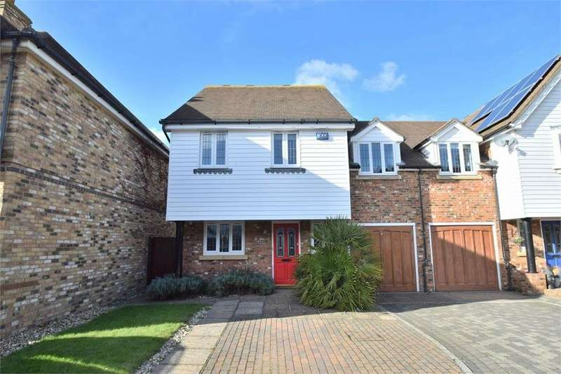 4 Bedrooms Semi Detached House for sale in Kensington, North Harbour, East Sussex