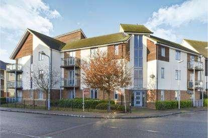 2 Bedrooms Flat for sale in Kemsley Crescent, Broughton, Milton Keynes, Buckinghamshire