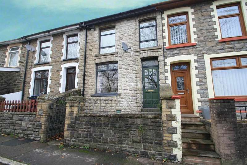 2 Bedrooms Terraced House for sale in Spring Bank, Abertillery, Gwent