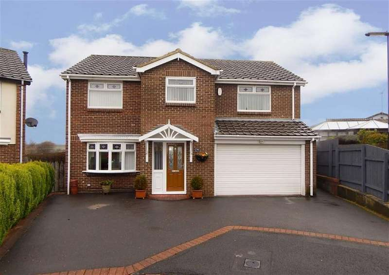 4 Bedrooms Detached House for sale in Arden Close, Hadrian Park, Wallsend, NE28