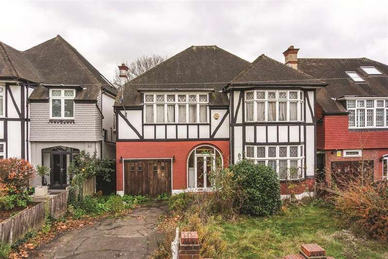 5 Bedrooms Detached House for sale in Woodfield Avenue, SW16