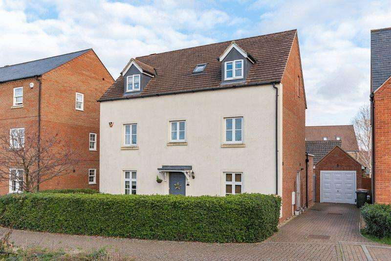 5 Bedrooms Detached House for sale in Saxon House End, Harrold, Bedfordshire, MK43