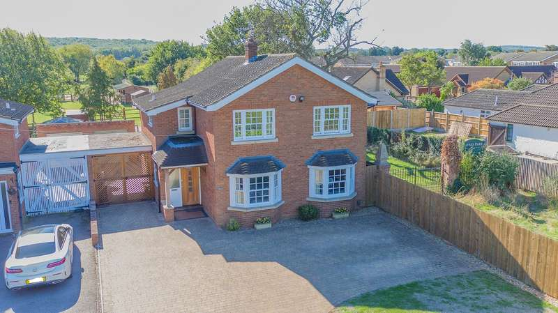 4 Bedrooms Detached House for sale in Cotton End Road, Wilstead, Bedfordshire, MK45