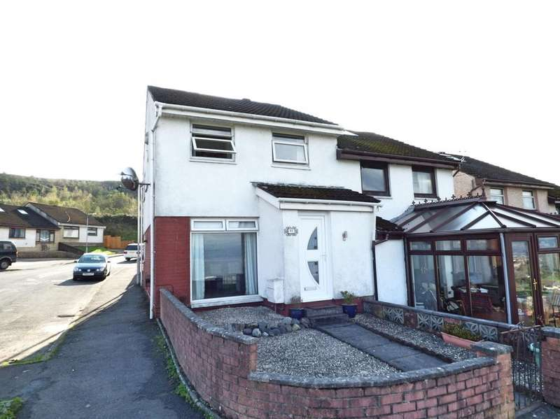 3 Bedrooms Semi Detached House for sale in ARDEN ROAD, GREENOCK PA15