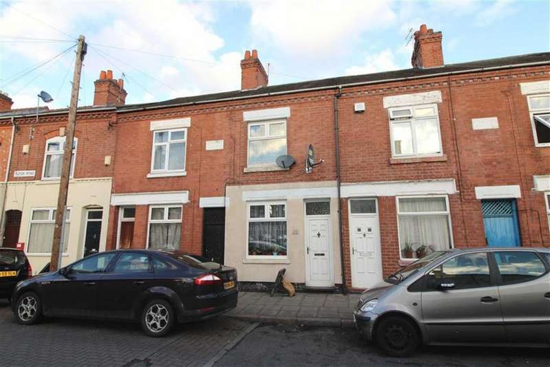 2 Bedrooms Terraced House for sale in Tudor Road, Leicester