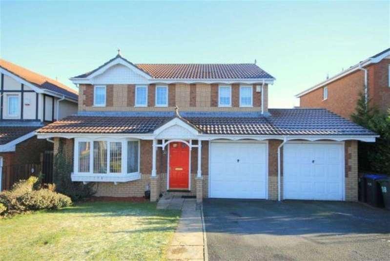 4 Bedrooms Detached House for sale in Hilltop Road, Bearpark