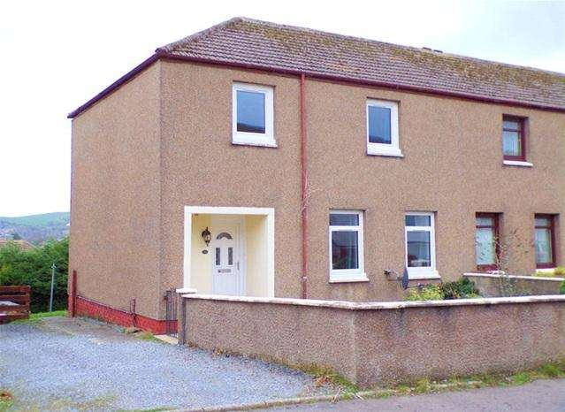 3 Bedrooms Terraced House for sale in 70 Crosshill Avenue, Campbeltown, PA28 6LJ