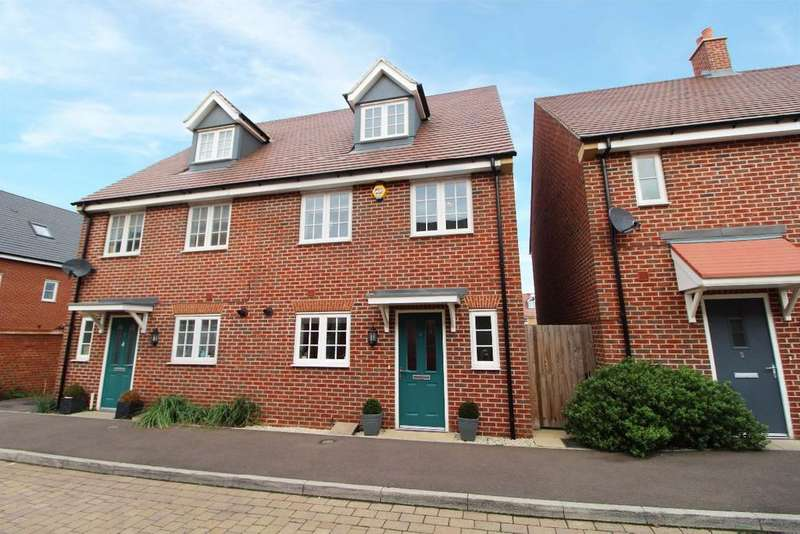 4 Bedrooms Semi Detached House for sale in Bittern Lane, Wixams MK42