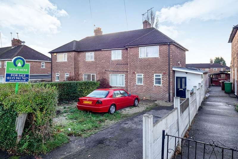 3 Bedrooms Semi Detached House for sale in Hollington Road, Nottingham, NG8