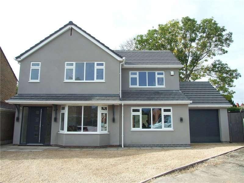 4 Bedrooms Detached House for sale in Devas Gardens, Spondon, Derby, Derbyshire, DE21