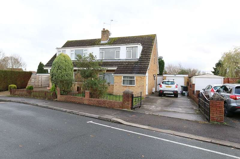3 Bedrooms Semi Detached House for sale in Cranham Drive, Patchway, Bristol, Gloucestershire, BS34 6AQ