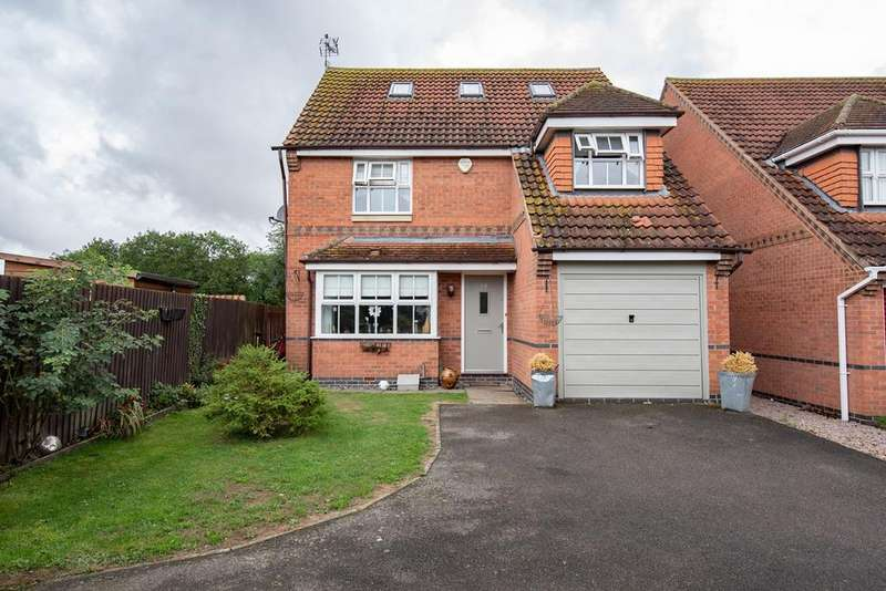 5 Bedrooms Detached House for sale in Waggoners Way, Morton, PE10