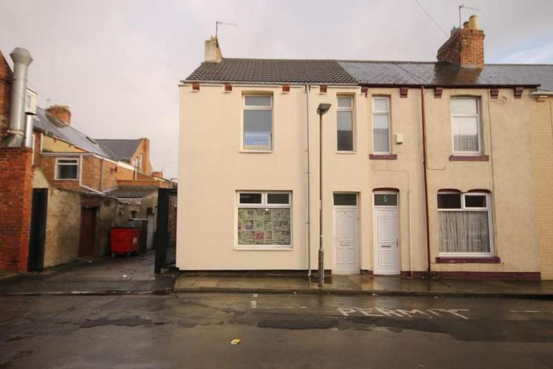 3 Bedrooms End Of Terrace House for sale in Alston Street, Hartlepool
