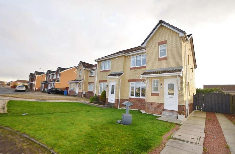 3 Bedrooms Semi Detached House for sale in 4 Corsankell Wynd, SALTCOATS, KA21 6HY