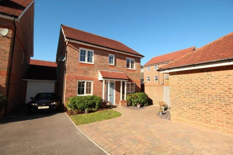 4 Bedrooms Detached House for sale in Mescott Meadows, Hedge End SO30