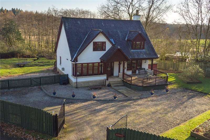 3 Bedrooms Detached House for sale in Glenfoot, Muirlands, Alexandria, Argyll and Bute