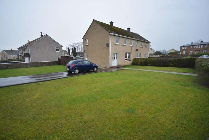 3 Bedrooms Semi Detached House for sale in Barbieston Road, Auchinleck, Cumnock, KA18