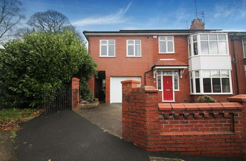 4 Bedrooms Semi Detached House for sale in Stonyhurst Avenue, BOLTON, BL1