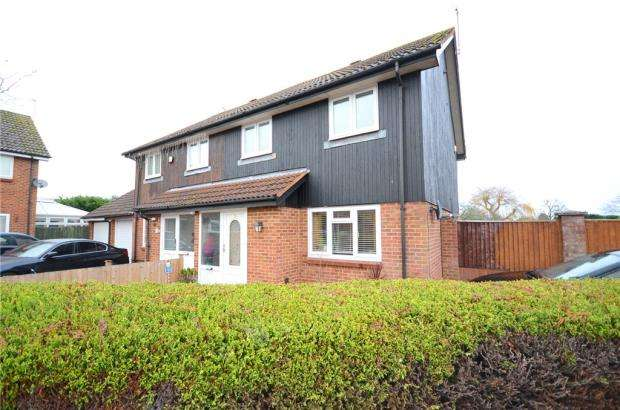 3 Bedrooms Semi Detached House for sale in Montgomery Drive, Spencers Wood, Reading