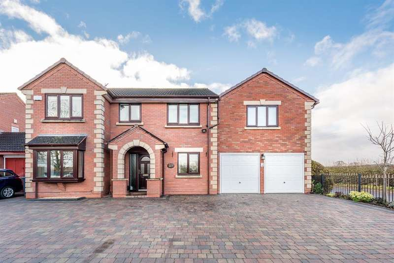 5 Bedrooms Detached House for sale in Six Ashes Road, Bobbington, DY7 5EA