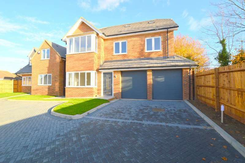 5 Bedrooms Detached House for sale in Indigo Gardens, Icknield Way, Luton, Bedfordshire, LU3 2EF