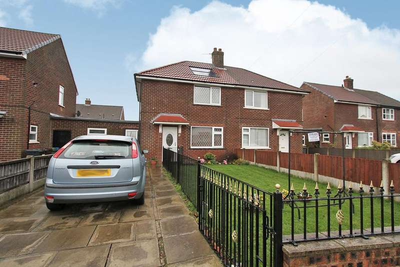 2 Bedrooms Semi Detached House for sale in Wentworth Road, Wigan, WN4