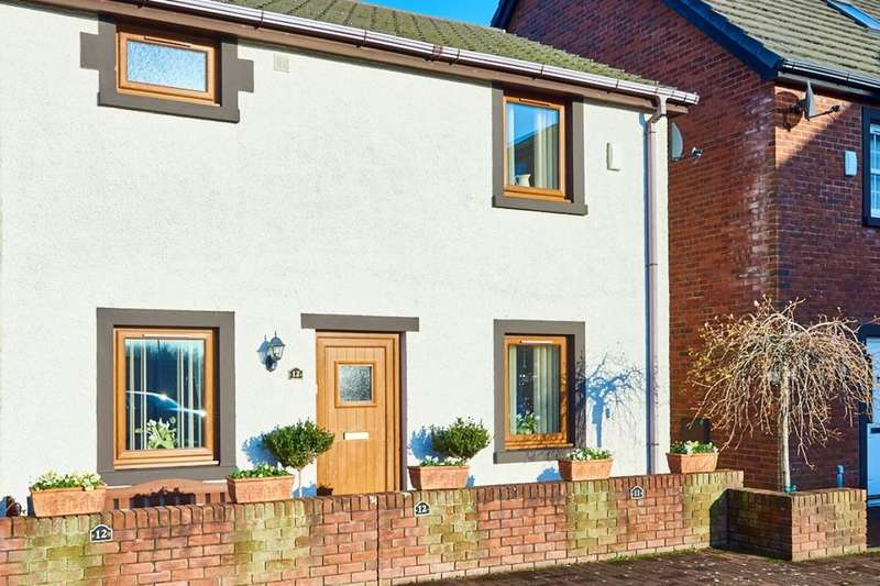 3 Bedrooms Semi Detached House for sale in Woodstock Lane, Whitehaven, CA28