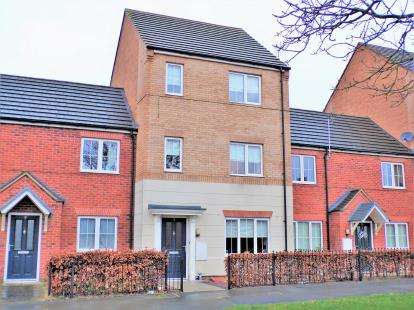 3 Bedrooms Terraced House for sale in Barn Meadow Road, Birstall, Leicester