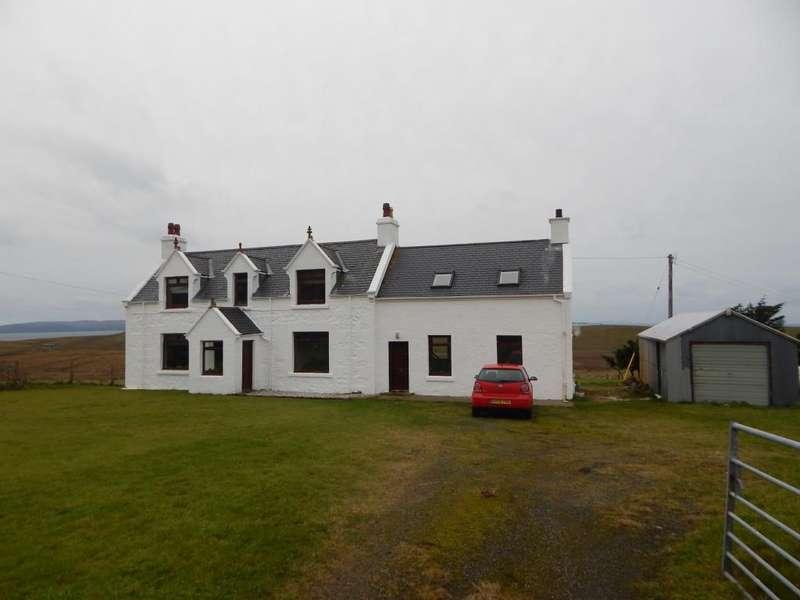 5 Bedrooms Detached House for sale in Linicro, Kilmuir, Isle of Skye IV51