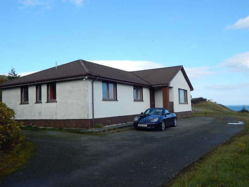 4 Bedrooms Detached Bungalow for sale in 4 Brogaig, Staffin, Isle of Skye IV51