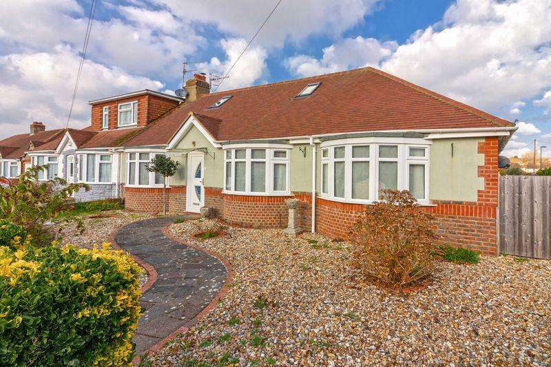 4 Bedrooms Semi Detached Bungalow for sale in Springate Road, Brighton