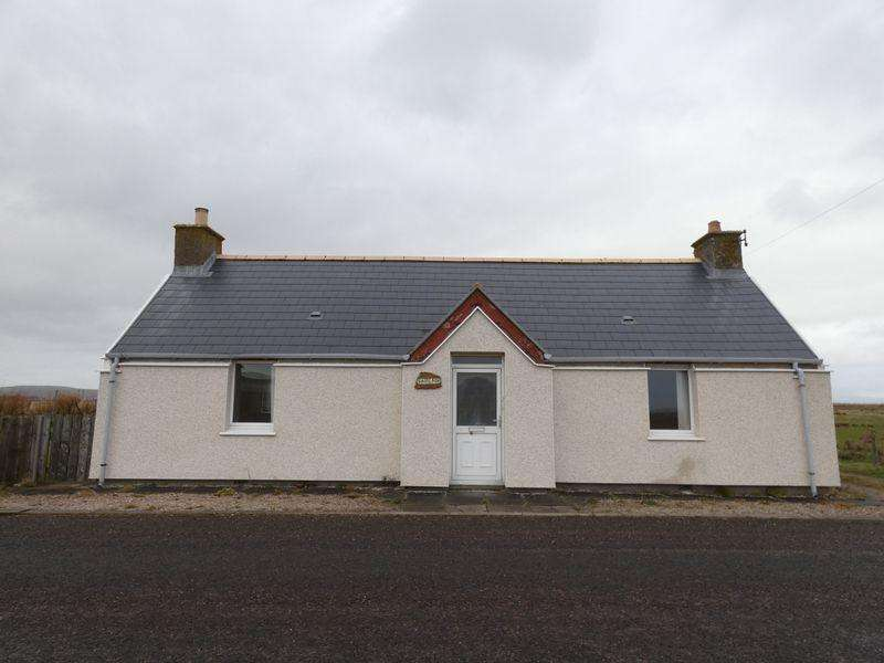 2 Bedrooms Detached Bungalow for sale in Scarfskerry, Thurso