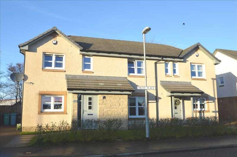 3 Bedrooms Semi Detached House for sale in Helve Place, Coatbridge