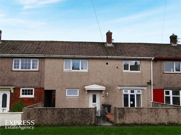 3 Bedrooms Terraced House for sale in Patterdale Avenue, Whitehaven, Cumbria