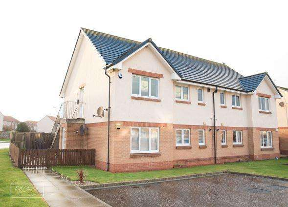 2 Bedrooms Flat for sale in Lundholm Road, Stevenston KA20