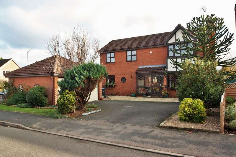 4 Bedrooms Detached House for sale in Dugdale Avenue, Bidford-on-Avon