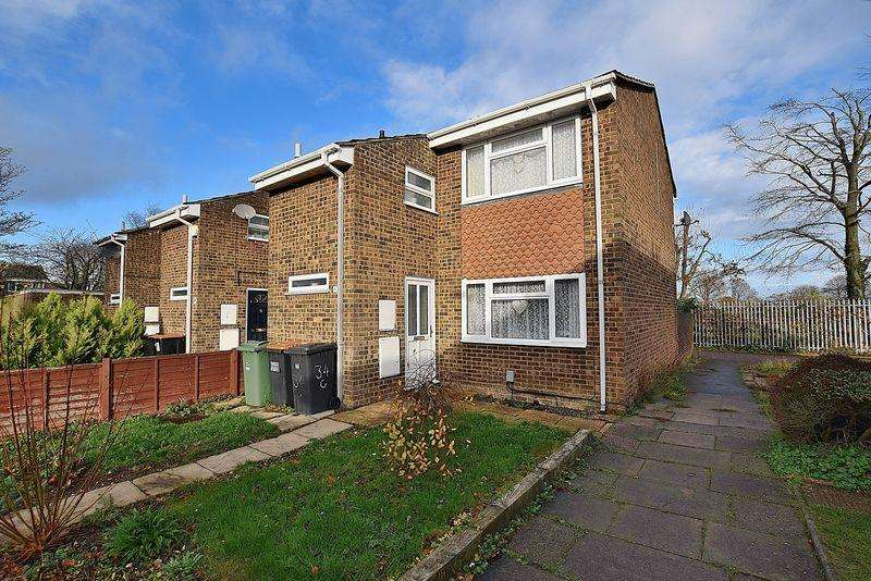 3 Bedrooms End Of Terrace House for sale in Greenfield Close, West Dunstable