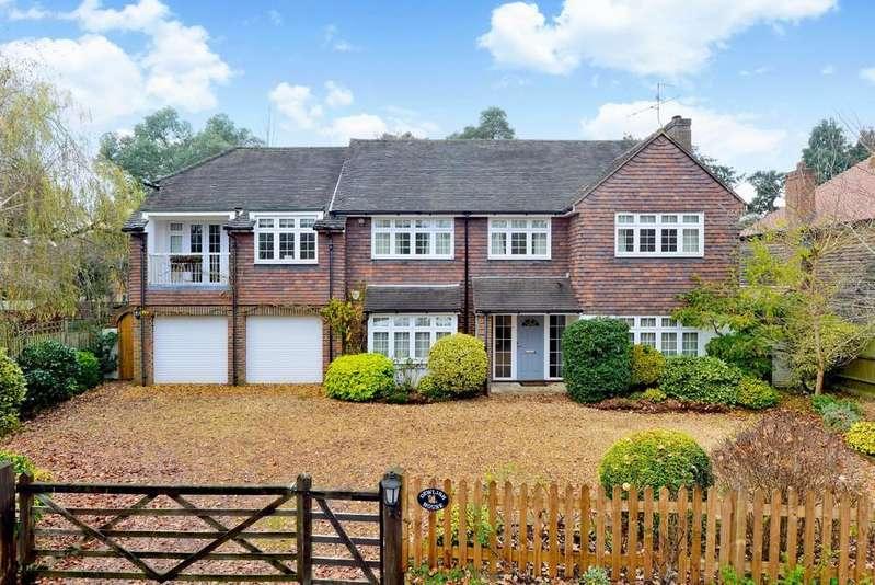 5 Bedrooms Detached House for sale in Chinthurst Lane, Shalford, Guildford GU4 8JR
