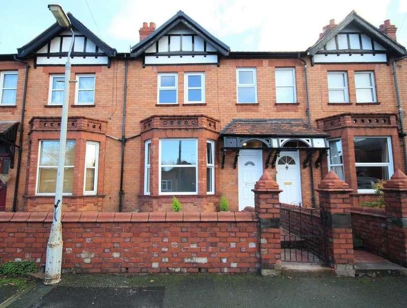 3 Bedrooms Terraced House for sale in Gerald Street, Wrexham