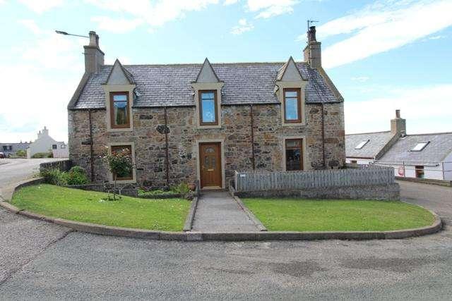 3 Bedrooms Detached House for sale in 11 Yardie, Buckie AB56 1XJ