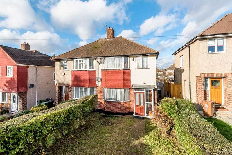3 Bedrooms Semi Detached House for sale in Brockman Rise Bromley BR1